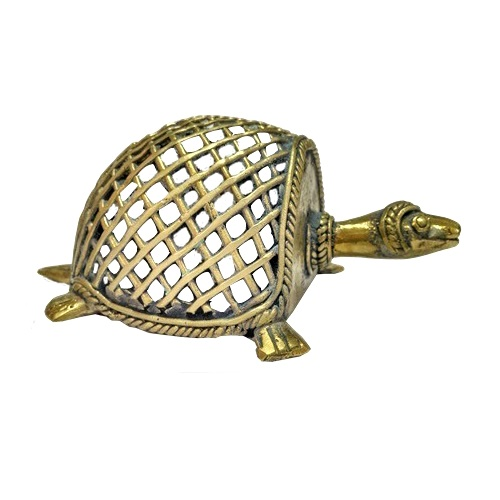 tortoise_paper_weight_dhokra