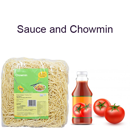 Sauce and Chowmin